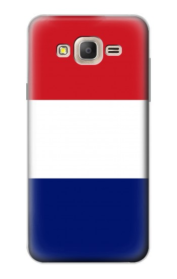 Printed Flag of France and the Netherlands Samsung Galaxy On7 Case