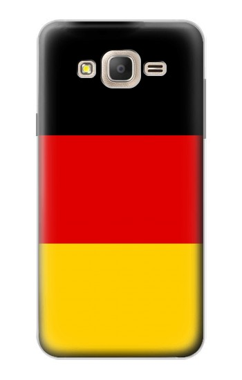 Printed Flag of Germany Samsung Galaxy On7 Case