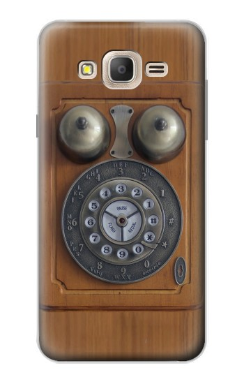 Printed Antique Wall Phone Samsung Galaxy On7 Case
