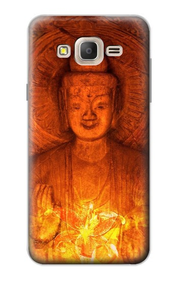 Printed Buddha Spiritual Holy Lights Samsung Galaxy On7 Case