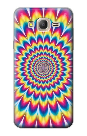 Printed Colorful Psychedelic Samsung Galaxy On7 Case
