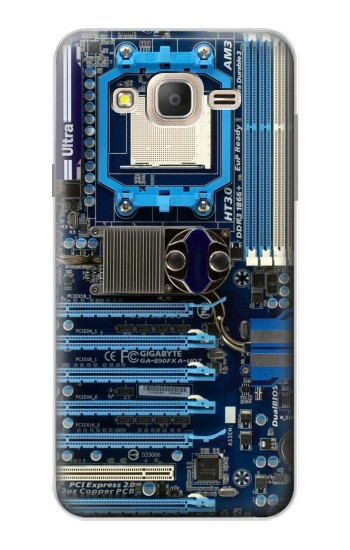 Printed Computer Motherboard Samsung Galaxy On7 Case