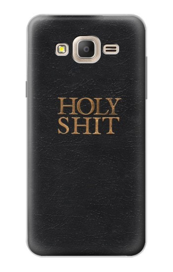 Printed Funny Holy Shit Samsung Galaxy On7 Case