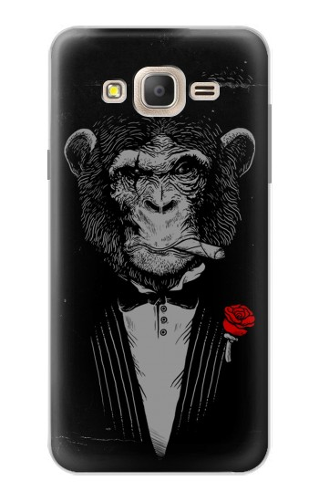 Printed Funny Monkey God Father Samsung Galaxy On7 Case