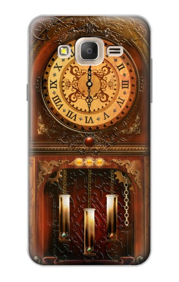 Printed Grandfather Clock Samsung Galaxy On7 Case