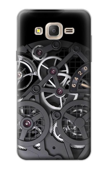 Printed Inside Watch Black Samsung Galaxy On7 Case