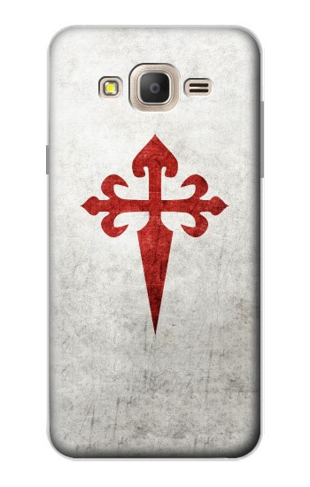 Printed Order of Santiago Cross of Saint James Samsung Galaxy On7 Case