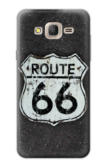 Printed Route 66 Sign Samsung Galaxy On7 Case