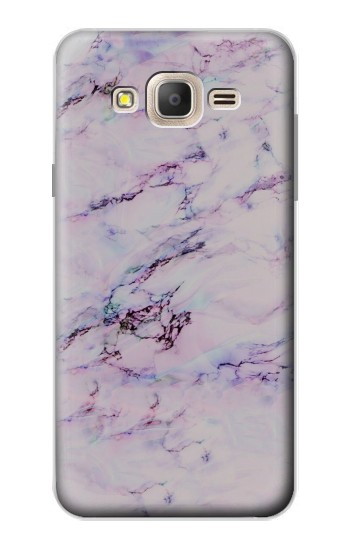 Printed Seamless Pink Marble Samsung Galaxy On7 Case