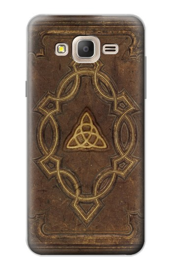 Printed Spell Book Cover Samsung Galaxy On7 Case