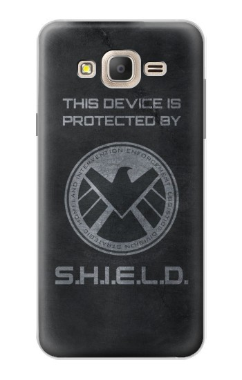 Printed This Device is Protected by Shield Samsung Galaxy On7 Case