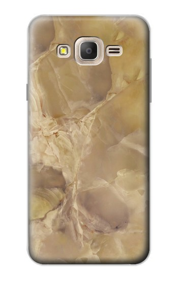 Printed Yellow Marble Stone Samsung Galaxy On7 Case