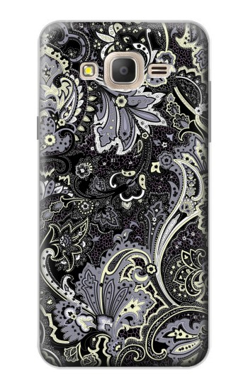Printed Batik Flower Pattern Samsung Galaxy On7 Case