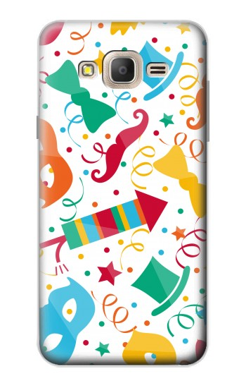Printed Carnival Pattern Samsung Galaxy On7 Case