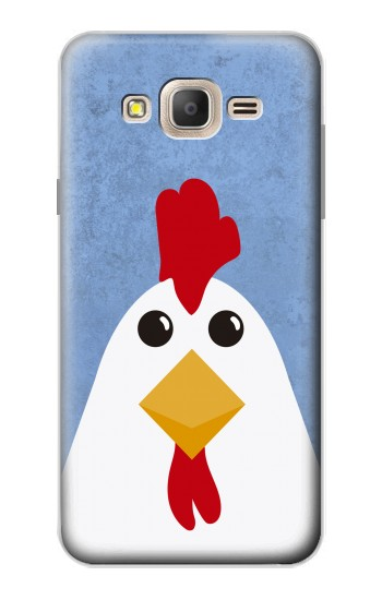 Printed Chicken Cartoon Samsung Galaxy On7 Case