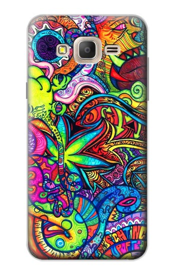 Printed Colorful Art Pattern Samsung Galaxy On7 Case