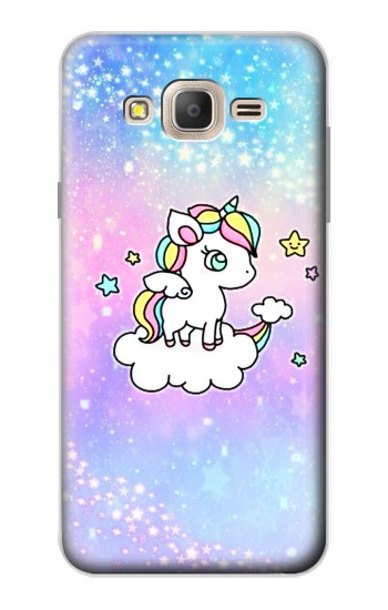 Printed Cute Unicorn Cartoon Samsung Galaxy On7 Case
