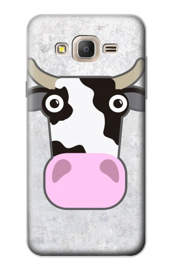 Printed Cow Cartoon Samsung Galaxy On7 Case
