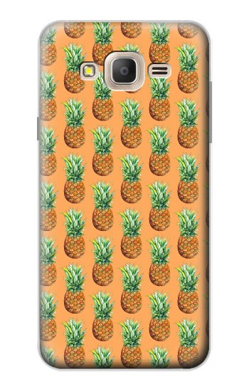 Printed Pineapple Pattern Samsung Galaxy On7 Case