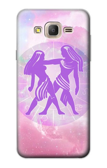 Printed Zodiac Gemini Samsung Galaxy On7 Case