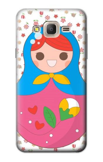 Printed Russian Doll Matryoshka Samsung Galaxy On7 Case