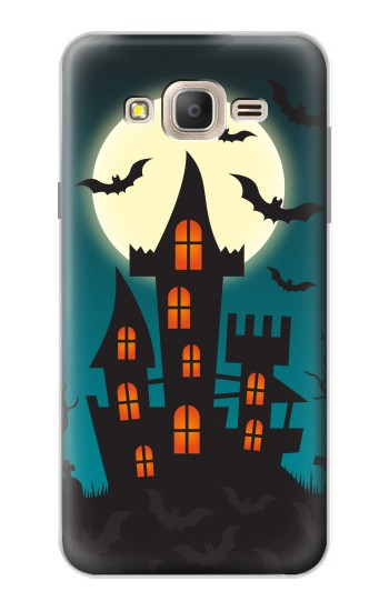 Printed Halloween Festival Castle Samsung Galaxy On7 Case