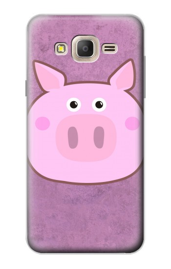 Printed Pig Cartoon Samsung Galaxy On7 Case