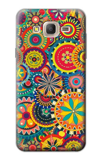 Printed Colorful Pattern Samsung Galaxy On7 Case