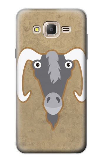 Printed Goat Cartoon Samsung Galaxy On7 Case