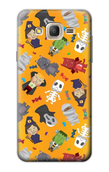Printed Cute Halloween Cartoon Pattern Samsung Galaxy On7 Case