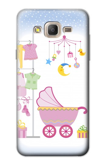 Printed Baby Supplies Samsung Galaxy On7 Case