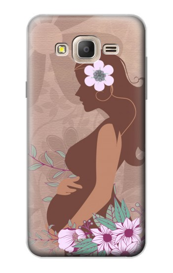 Printed Pregnant Mommy Baby Samsung Galaxy On7 Case