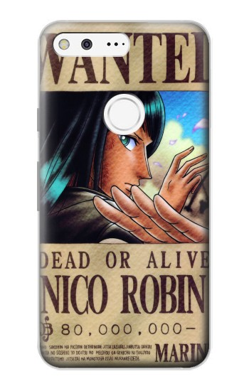 Printed One Piece Nico Robin Wanted Poster Google Pixel Case