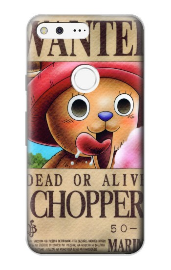 Printed One Piece CHOPPER Wanted Poster Google Pixel Case