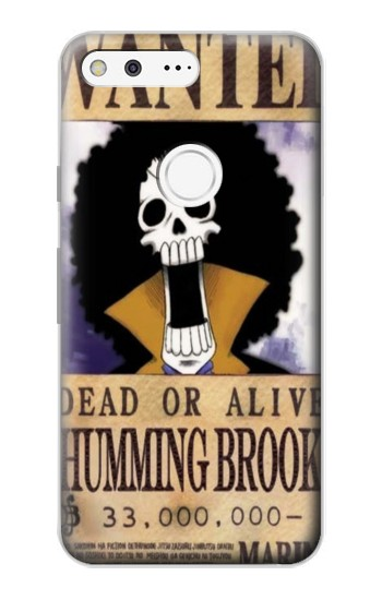 Printed One Piece Humming Brook Wanted Poster Google Pixel Case