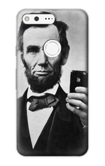 Printed Abraham Lincoln Google Pixel Case