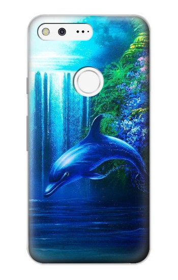 Printed Dolphin Google Pixel Case
