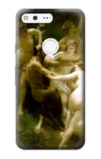Printed Nymphs and Satyr Google Pixel Case