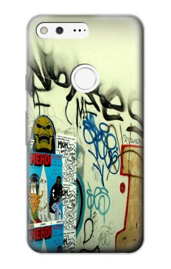 Printed Street Wall Graffiti Google Pixel Case