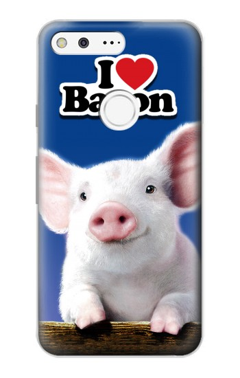 Printed I Love Bacon Google Pixel Case