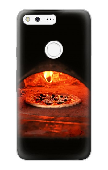 Printed Pizza in Oven Google Pixel Case
