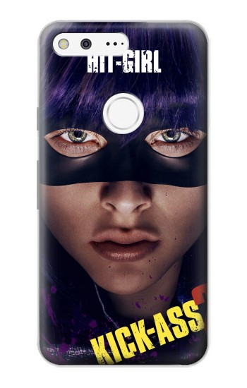 Printed Hit Girl Google Pixel Case