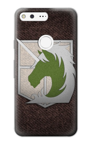 Printed Military Police Attack on Titan Google Pixel Case