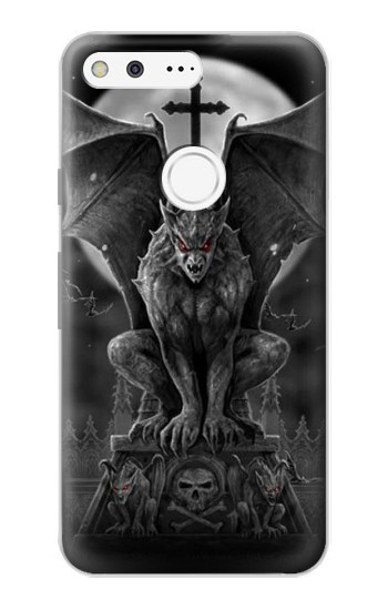 Printed Gargoyle Devil Demon Google Pixel Case