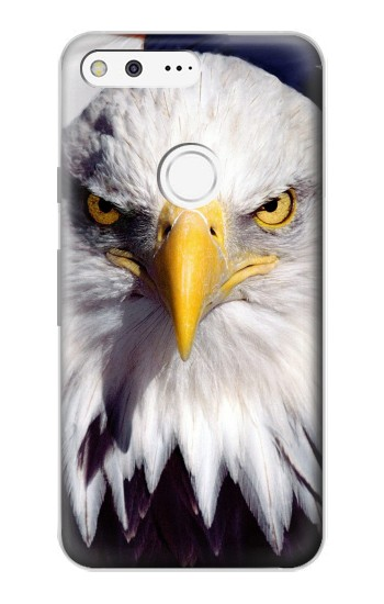 Printed Eagle American Google Pixel Case