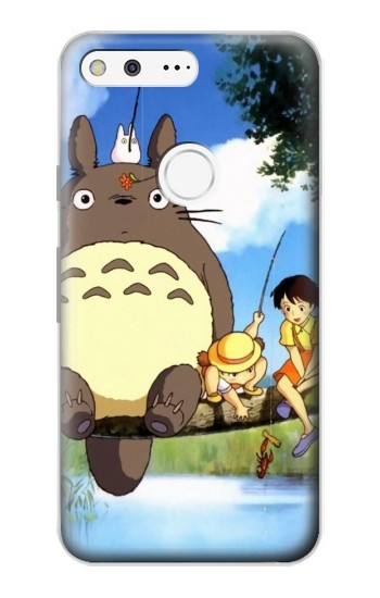 Printed Totoro and Friends Google Pixel Case