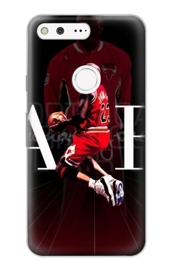 Printed Basketball Air Jordan Google Pixel Case
