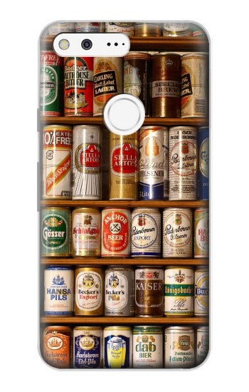 Printed Beer Cans Collection Google Pixel Case