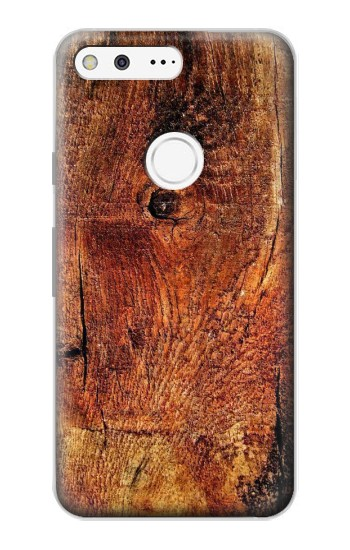 Printed Wood Skin Graphic Google Pixel Case