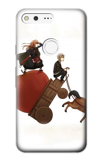 Printed Spice and Wolf Horo Lawrence Google Pixel Case